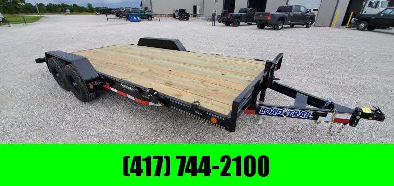2019 Load Trail 83X18(16+2) TANDEM 10K CAR HAULER W/ SLIDE-OUT RAMPS in Omaha, AR