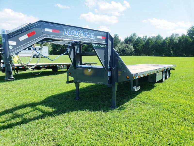 "2019 Load Trail 102"" x 32' Tandem Low-Pro Gooseneck w/Hyd. Dove"