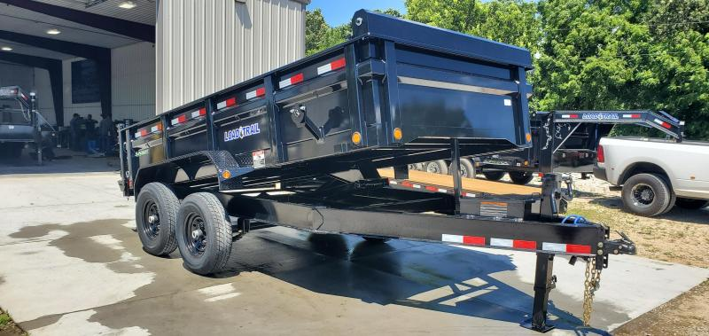 2019 Load Trail 83X14 TANDEM 14K DUMP TRAILER W/MAX STEP SPARE MOUNT & RAPID CHARGING SYSTEM