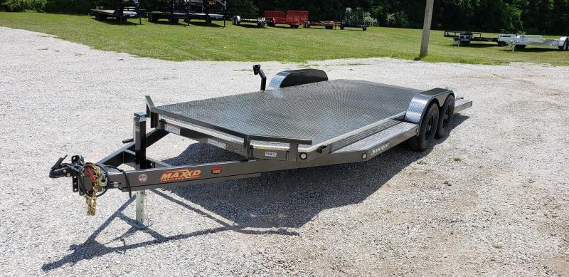 2019 MAXXD 83X20 10K TANDEM MAXXD METALLIC GRAY  N5X CAR HAULER