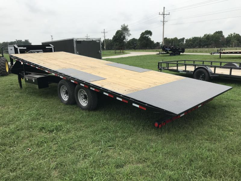 2019 Load Trail 102X26 Gooseneck FULL TILT Trailer