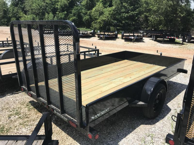 2018 Load Trail 77X12 SOLID SIDE Utility Trailer