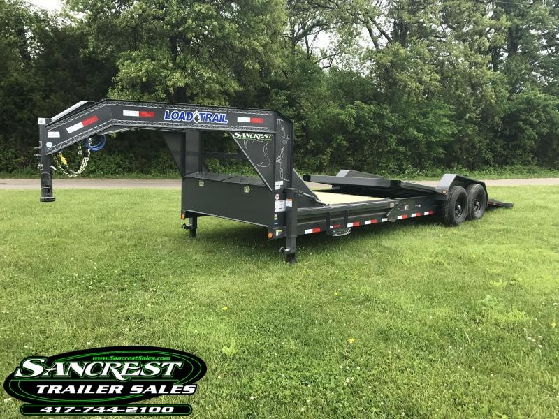 2018 Load Trail 83x24 TILT-N-GO GOOSENECK Car HAULER