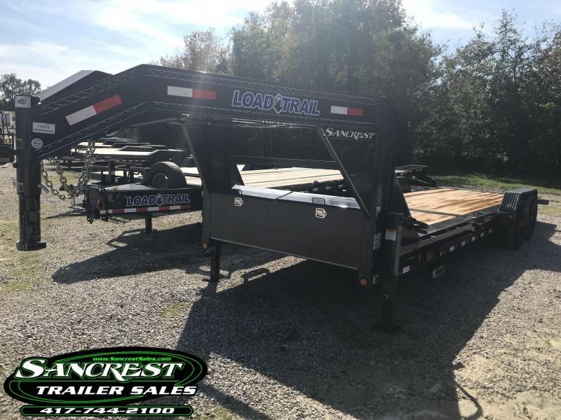 2019 Load Trail 83X24 TILT-N-GO Gooseneck Equipment Trailer W/7K AXLES