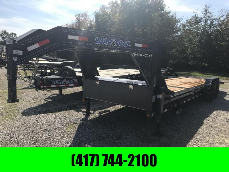 2019 Load Trail 83X24 TILT-N-GO Gooseneck Equipment Trailer W/7K AXLES