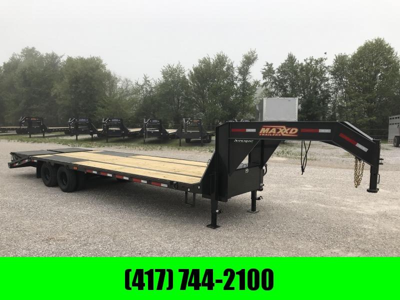 2019 MAXXD 102X28 TANDEM LO-PRO GOOSENECK W/10K AXLES & MAXXD OUT RAMPS in Ashburn, VA