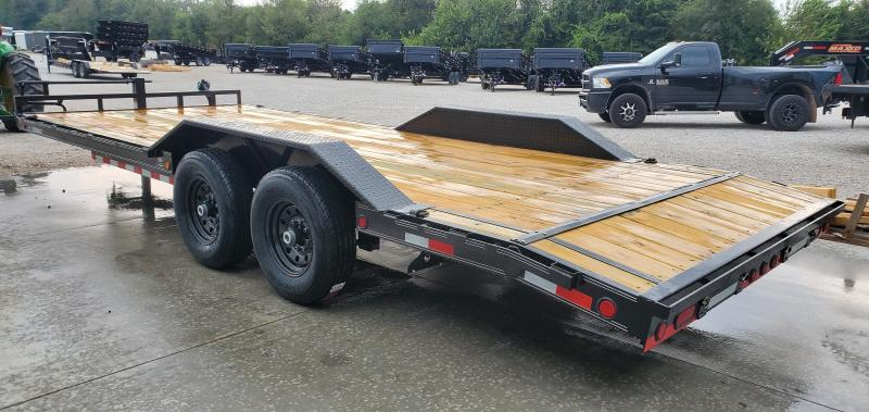 2020 Load Trail 102x22(19+3) TANDEM 14K CAR/EQUIPMENT HAULER W/SLIDE OUT RAMPS & DRIVE OVER FENDERS