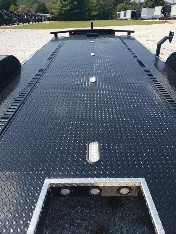 2020 MAXXD 83 X 20 N5X CAR HAULER LOADED WET BLACK