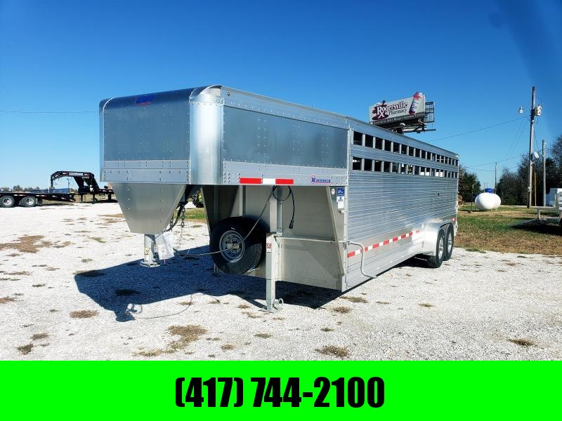 "2019 EBY Maverick (Dakota Edition) 24'x6'11""x6'6"" GOOSENECK Livestock Trailer in Ashburn, VA"