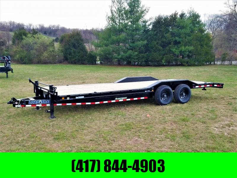 "2018 Load Trail Equipment Trailer102"" x 24' Tandem Axle Carhauler"