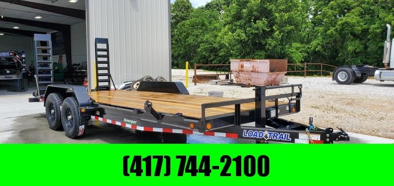2019 Load Trail 83X20 (18+2) TANDEM 14K EQUIPMENT HAULER W/STAND UP Ramps in Omaha, AR