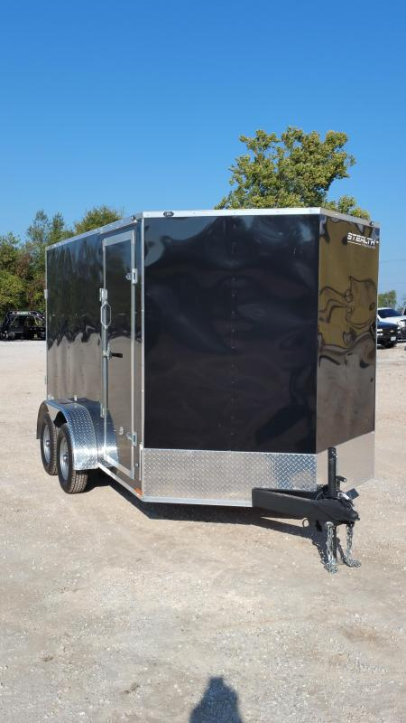 2018 Stealth Trailers  Enclosed Cargo Trailer 7 x 12
