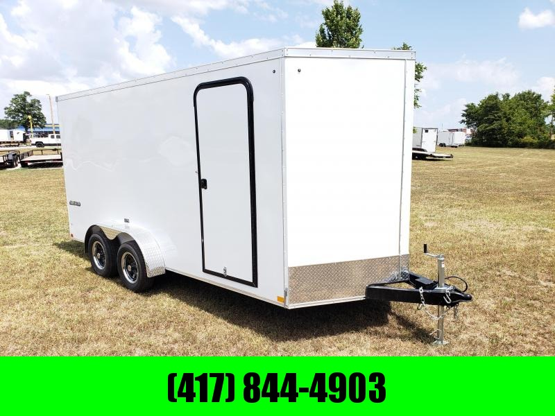 2019 Impact Cargo Trailer 7 X16  WHITE in Ashburn, VA