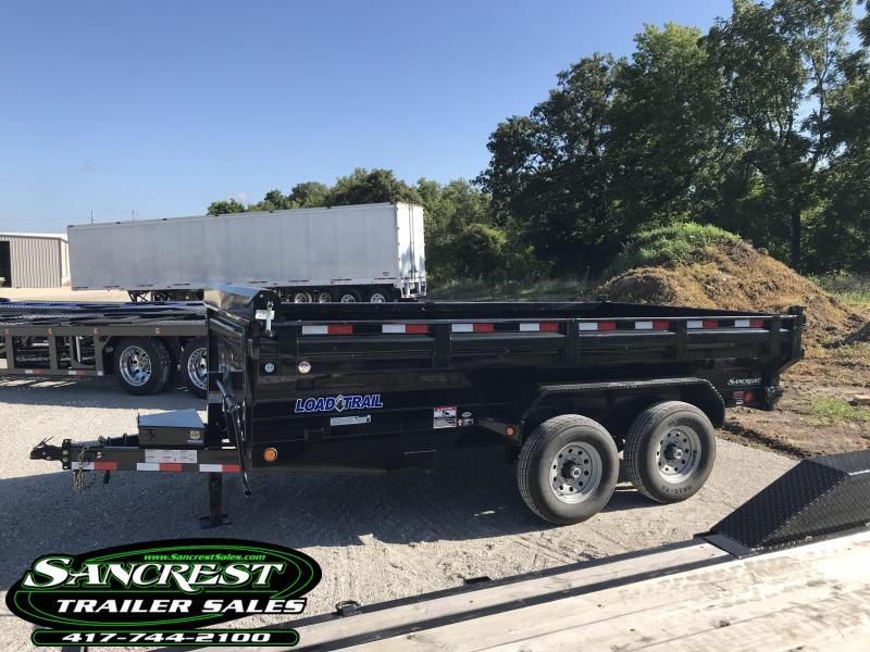 2018 Load Trail 83X14 KING BED Dump Trailer W/7K AXLES