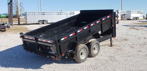 2019 Load Trail 83X14 TANDEM GOOSENECK Dump Trailer W/7K AXLES