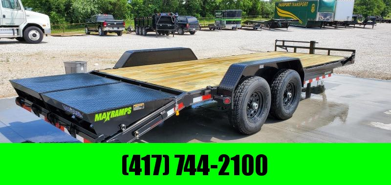 2019 Load Trail 83X22(19+3) TANDEM 14K EQUIPMENT HAULER W/MINI MAX RAMPS in Lowell, AR