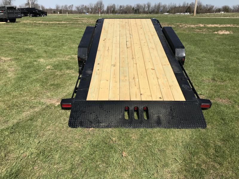 2018 Load Trail 83x22 Tilt-N-Go Equipment Trailer