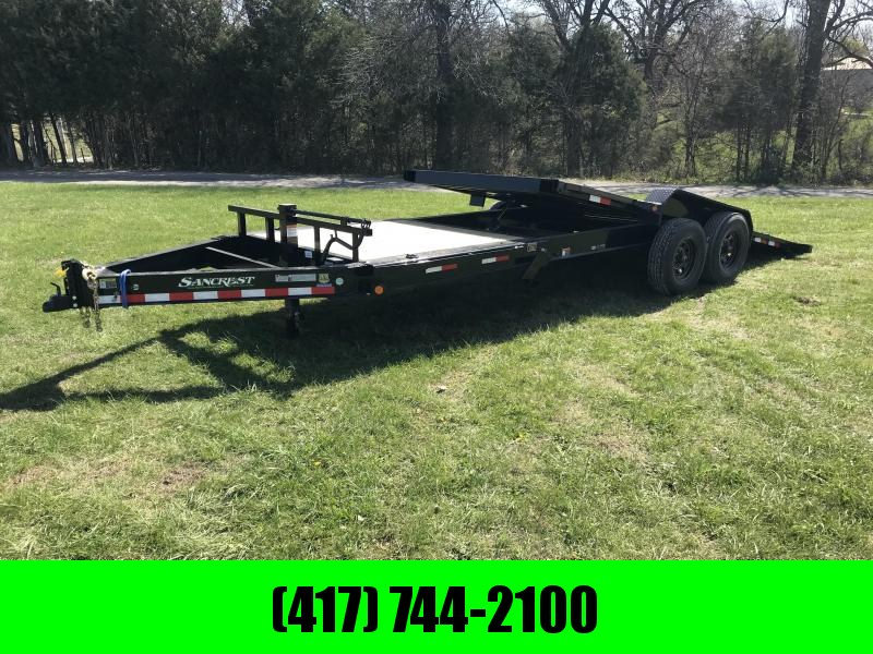 2018 Load Trail 83x22 Tilt-N-Go Equipment Trailer
