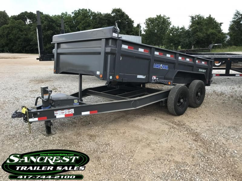2018 Load Trail 83X14 GRAY Dump Trailer in Duenweg, MO