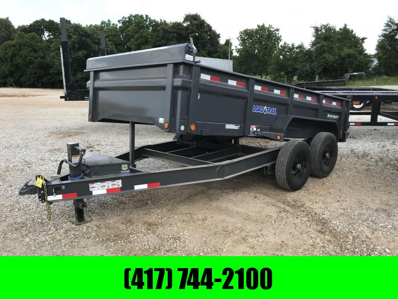 2018 Load Trail 83X14 GRAY Dump Trailer