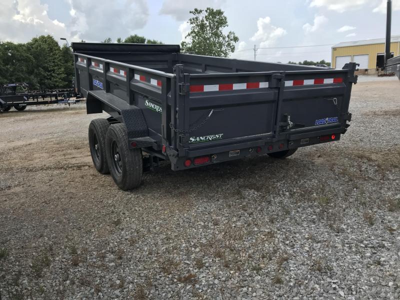 2018 Load Trail 83X14 GRAY Dump Trailer