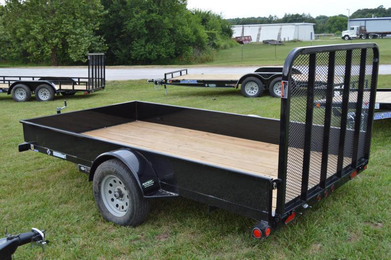 """2018 Load Trail 77""""x12' with 4' gate"""