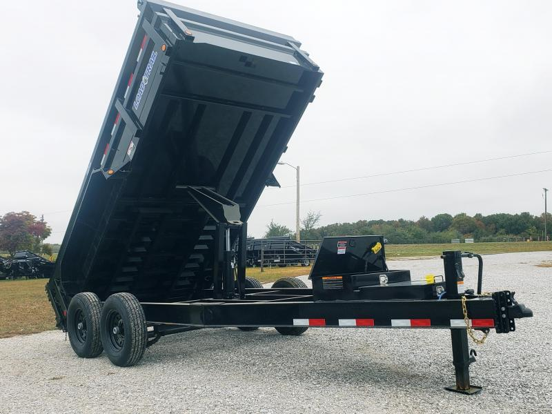 2019 Load Trail 83'' X 14'' TANDEM AXLE 8'' I - BEAM HEAVY DUTY DUMP TRAILER W/ 7 K