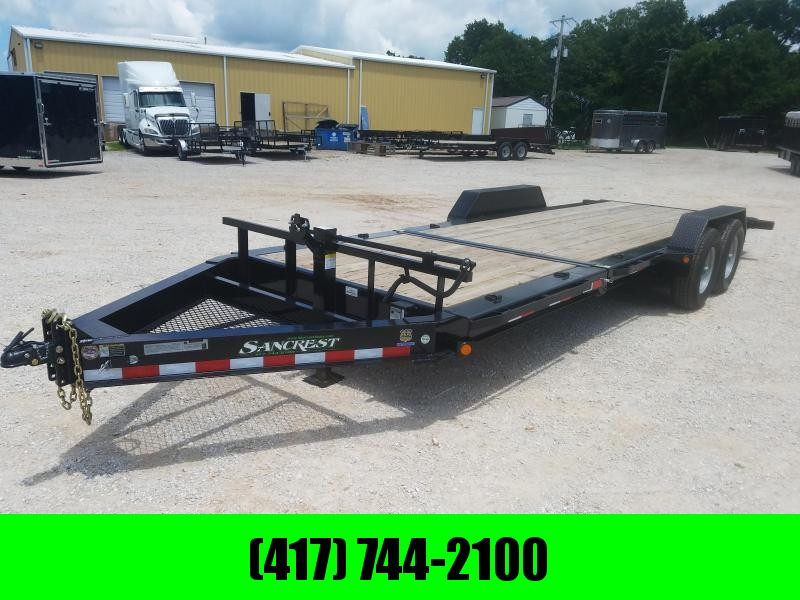 2017 Load Trail 83x22 TILT DECK EQUIPMENT TRAILER