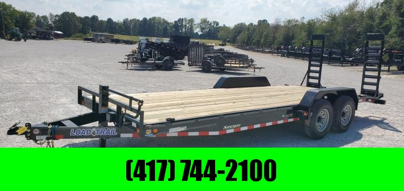 2019 Load Trail 83x22(20+2) TANDEM 14K CAR/EQUIPMENT HAULER W/STAND UP RAMPS