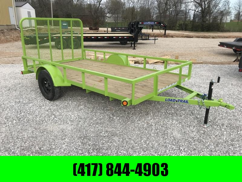 2018 Load Trail 77x12 Utility Trailer (Safety Green)