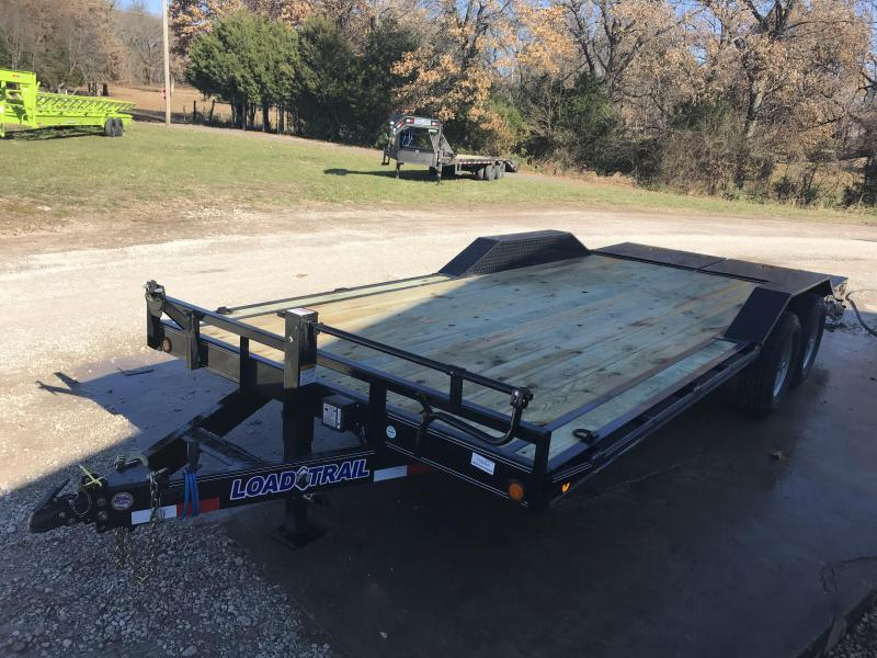 2019 Load Trail 102X20 Equipment Trailer W/7K AXLES AND MAX RAMPS