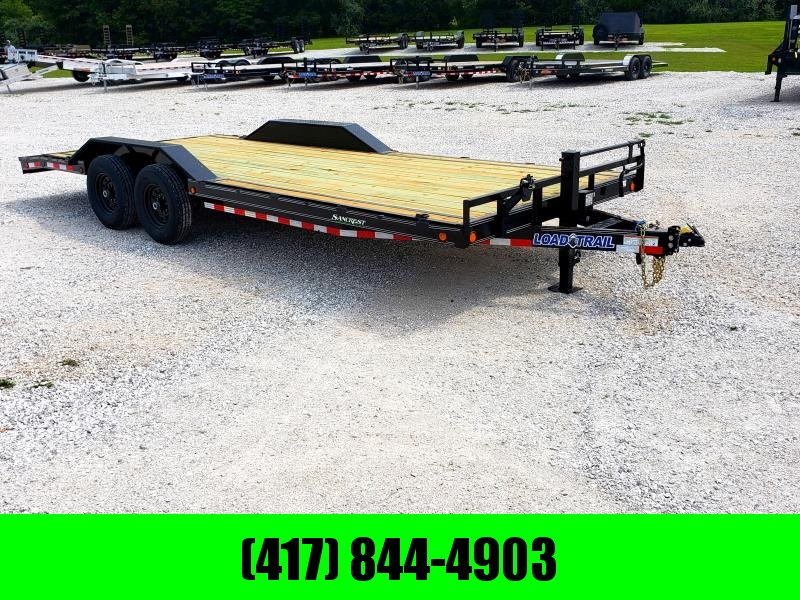 2020 LOAD TRAIL 102 X 22(20+2) TANDEM 14K CAR HAULER W/SLIDE OUT RAMPS