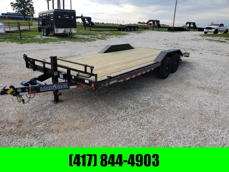 2019 LOAD TRAIL 102X22 TANDEM CARHAULER W/ DRIVE OVER FENDERS in Gamaliel, AR