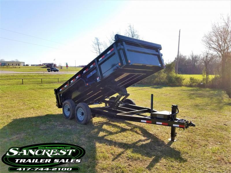 "2018 Load Trail 83"" x 14' Tandem Axle Low-Pro DumpTrailer in Centerville, MO"