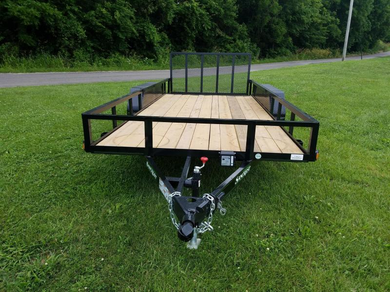 2017 Load Trail  Utility Trailer 77 X 16 W/DOVE