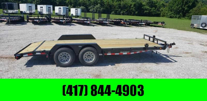 2019 LOAD TRAIL CARHAULER 83 X 18 W/ 5200LB AXLES in Gamaliel, AR