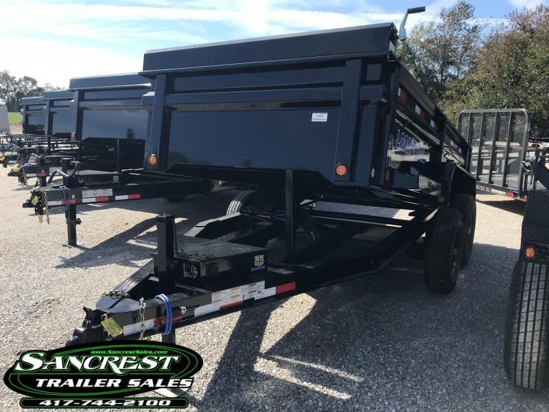 2019 Load Trail 72X12 Dump Trailer W/5200# AXLES MAX STEP SPARE TIRE MOUNT AND RAPID 8 AMP CHARGER