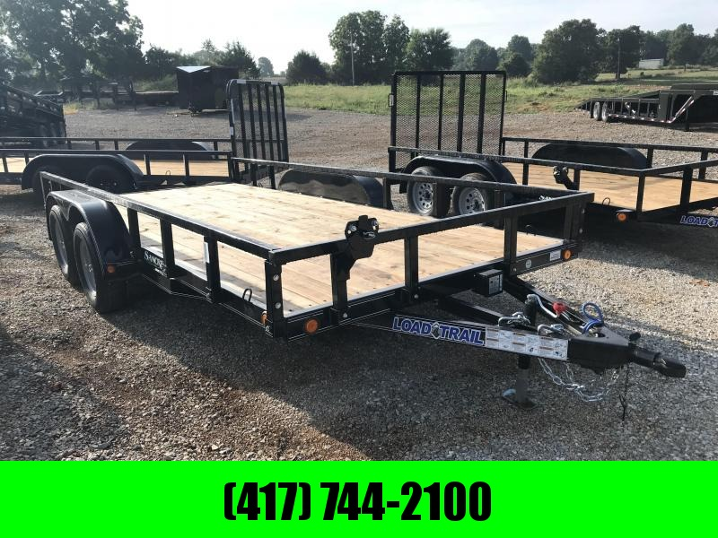 2018 Load Trail 83X16 TANDEM AXLE Utility Trailer w/REMOVABLE RAILING in Ashburn, VA