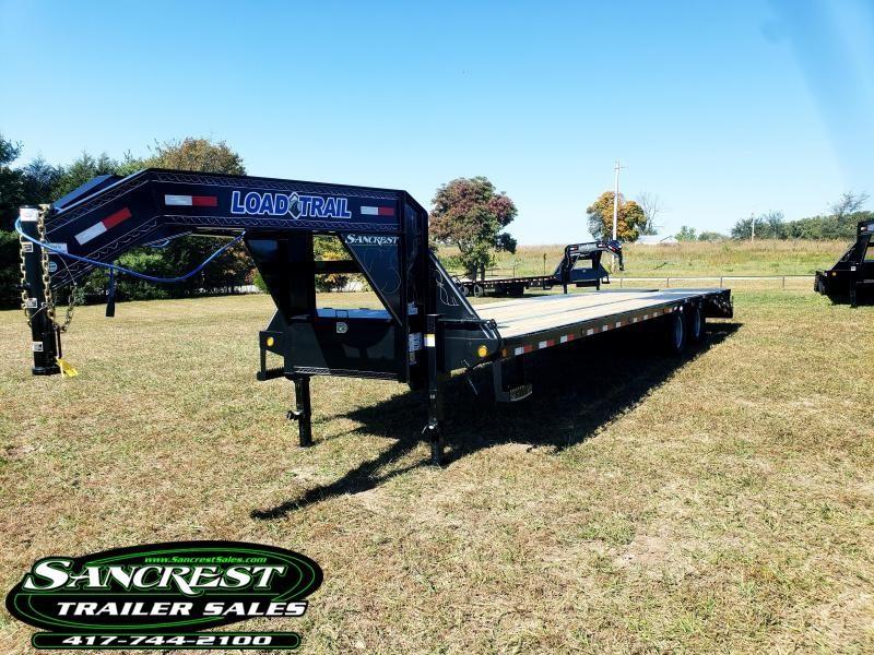 "2019 Load Trail 102"" x 32' Tandem Low-Pro Gooseneck W/ MAX RAMPS"
