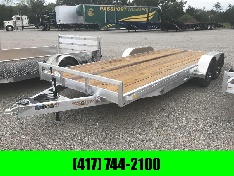2019 H and H Trailer 82X20 CAR HAULER W/3500# AXLES/ALUM. RIMS AND SPARE TIRE MOUNT in Ashburn, VA