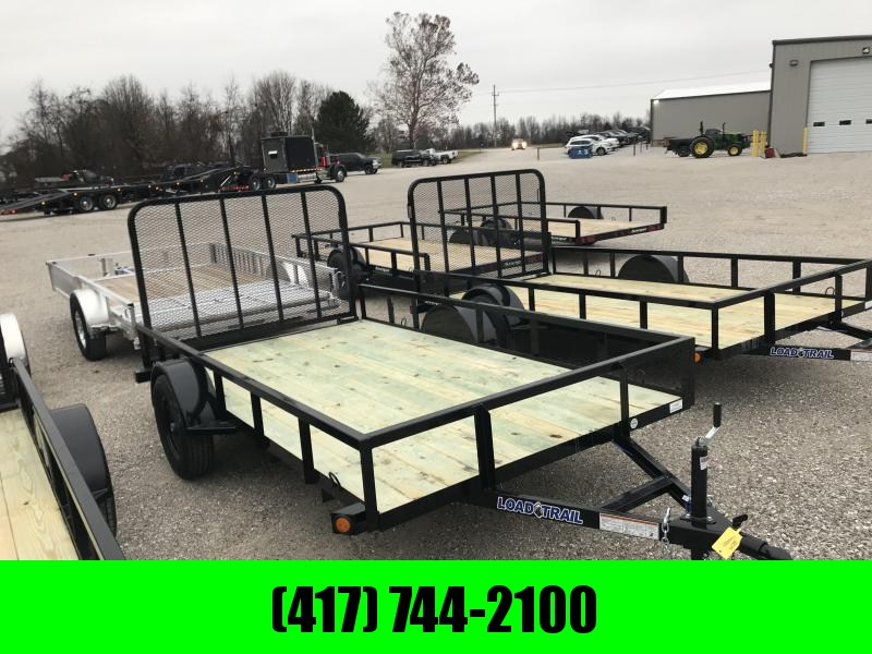 2019 Load Trail 77x12 Utility Trailer w/4' TUBE GATE AND SPRING LATCHES in Ashburn, VA