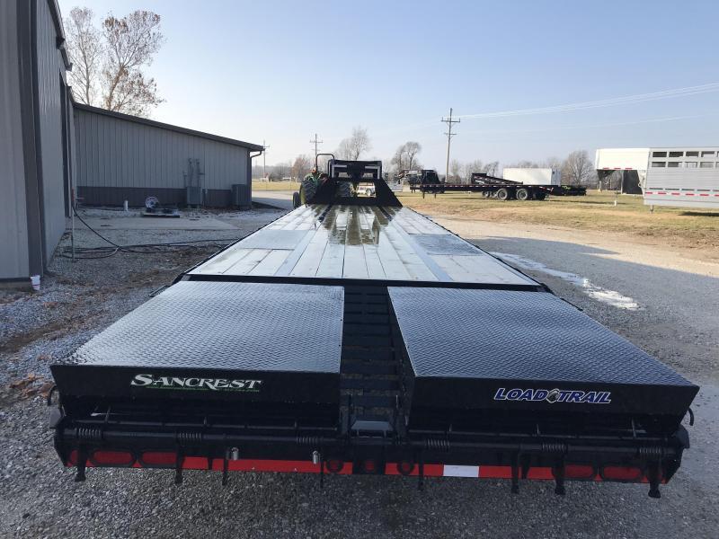 2019 Load Trail 102x40 LO-PRO GOOSENECK Flatbed Trailer W/DISC BRAKES 12K AXLES ADJUSTABLE RATCHET RAIL