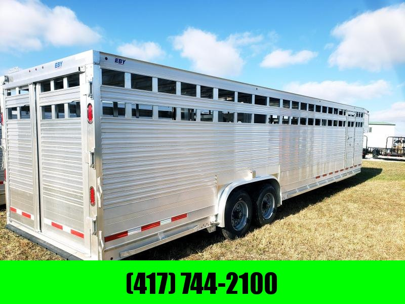 2019 EBY LIVESTOCK TRAILER 32' X 8' X 6'6 RUFF NECK  in Ashburn, VA