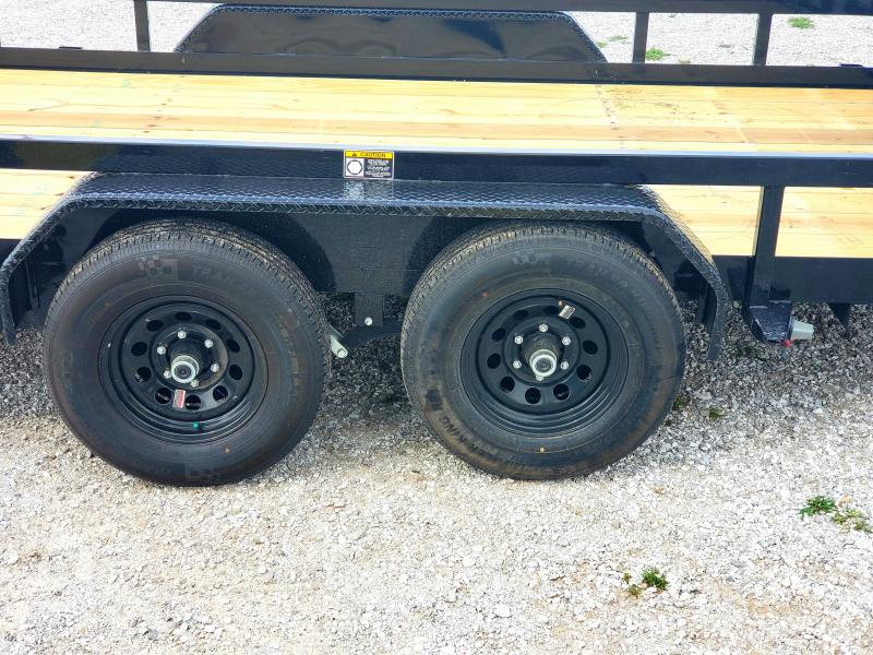 2019 H AND H  HEAVY DUTY  UTILITY TRAILER 82 X 16 W/ 5200LB AXLES
