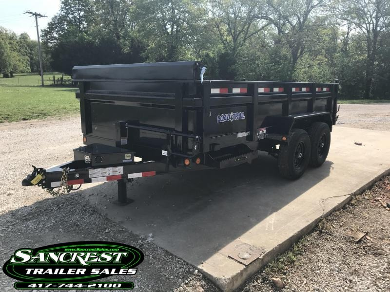 2018 Load Trail 83x14 Dump Trailer w/ Max step in El Dorado Springs, MO