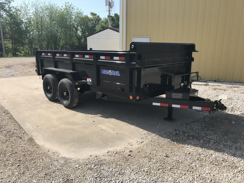 2018 Load Trail 83x14 Dump Trailer w/ Max step