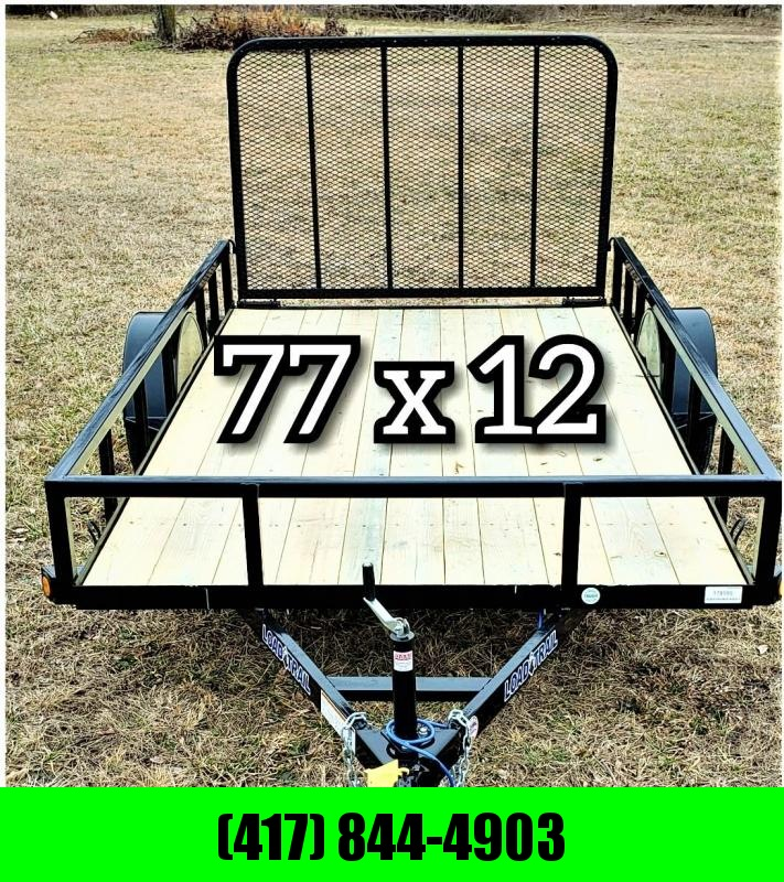 "2019 Load Trail  77"" x 12' SINGLE AXLE"