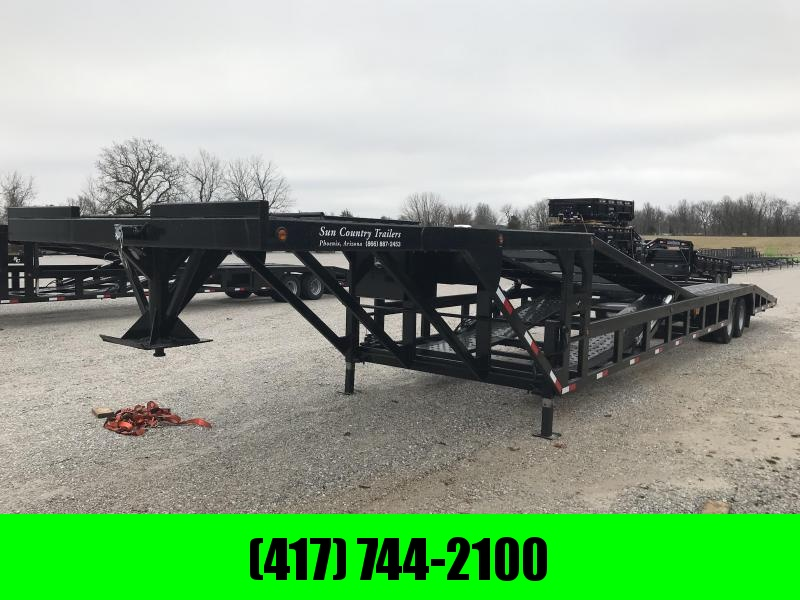2019 Sun Country DROP DECK 4/5 CAR HAULER W/ALUMINUM RAMPS