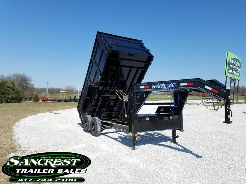 2018 Load Trail DUMP TRAILER (BEAST MODE) 83 X14 LOW-PRO in Brandsville, MO