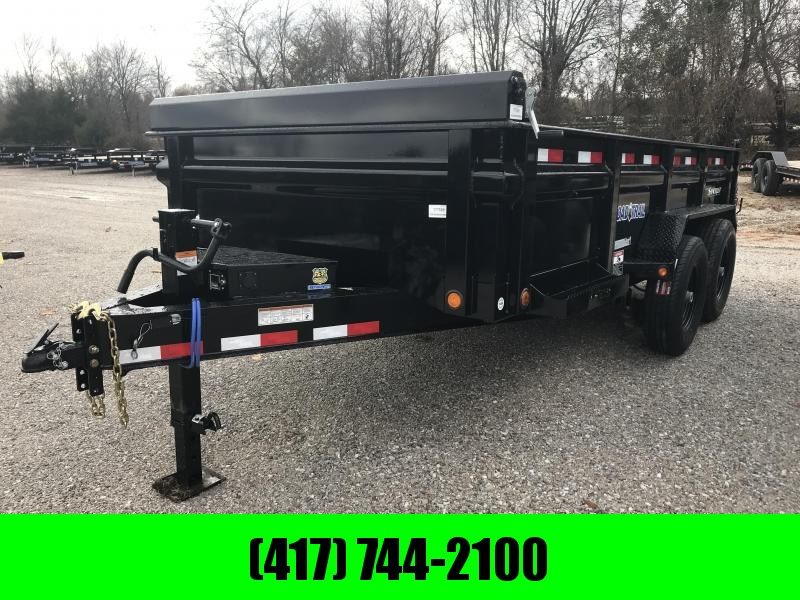 2019 Load Trail 83X14 LO-PRO Dump Trailer W/7K AXLES/MAX STEP/SPARE TIRE MT./8 AMP CHARGER